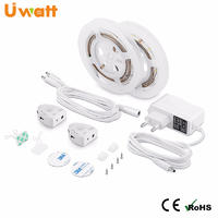 DC12V Timing LED Bed Strip Light With Motion Sensor 3W/12V LED Bed Light